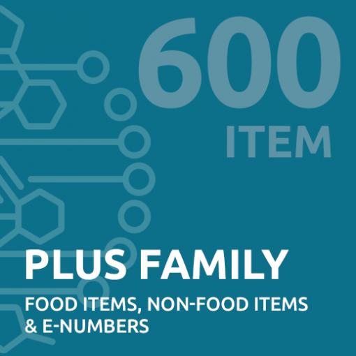 600 item family intolerance test