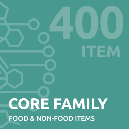 family intolerance test for up to 400 items