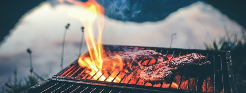 deal with your food intolerances at BBQs