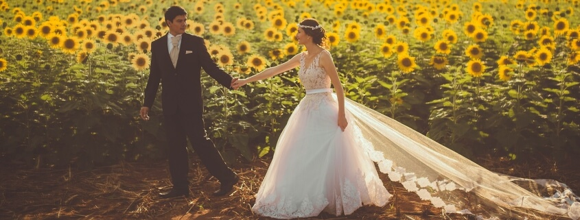 White wedding without the weight