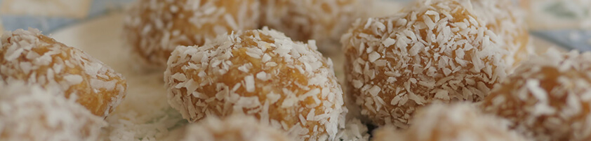 Nut-Free Vegan Coconut Ball Dessert – Free-From Delights