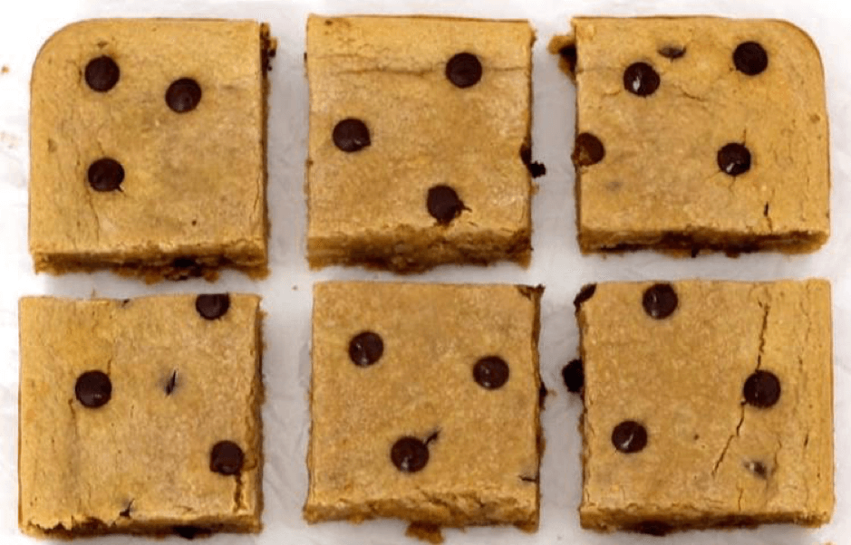 Chocolate Chip Vegan Blondies – Free-From Delights
