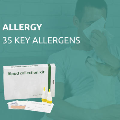 allergy test of 35 items