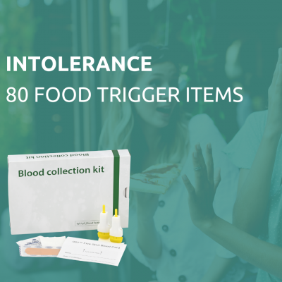 intolerance test of 80 items