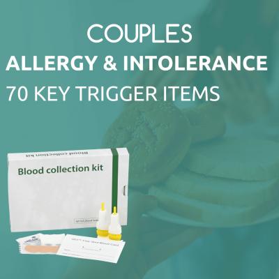 Couples allergy & intolerance test