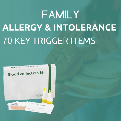 Family Allergy and intolerance test